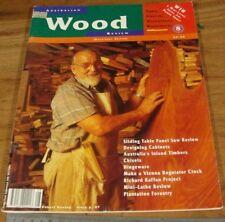 1995.WOOD REVIEW Magazine No.8.Issue Eight.Australian WOODWORK.Furniture.Design.