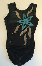 "USED Milano Gymnastics leotard, Size 32"", Colour : Black"
