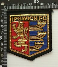 VINTAGE IPSWICH FC FOOTBALL CLUB UK EMBROIDERED PATCH WOVEN CLOTH SEW-ON BADGE