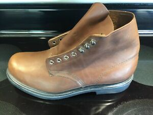 """Red Wing Store Display Single Left Amputee 952 6"""" Work Boot Brown Leather 9 D!!!"""