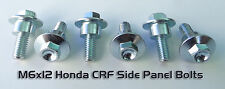 """6pc Honda CRF250R CRF450R Side Panel Bolts """"13-16"""" Replaces OEM #90126-MEN-A70"""
