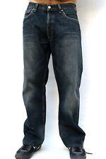 LEVIS 501 VINTAGE FADED BLUE DENIM JEANS 80s RED TAB STRAIGHT LEG W34 L30 FLARED