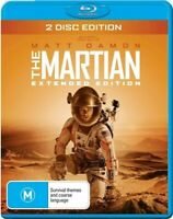THE MARTIAN EXTENDED EDITION 2 DISC BLURAY SET AUS/NZ ZONE B