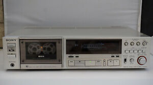 SONY TC-K777 3head cassette deck, manual calibration, remote control RM-50, 120v