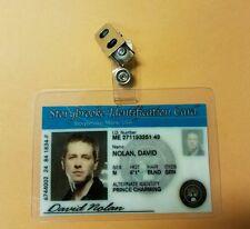 Storybrooke  ID Badge - David Nolan cosplay prop costume
