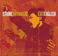 Strike Anywhere - Exit English         *** BRAND NEW CD ***