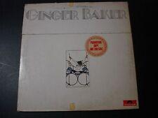 GINGER BAKER AT HIS BEST 2 LP RECORD PROMO DJ SET