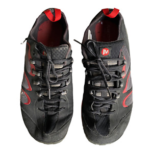 Merrell True Glove Black Molton Lava Size 10 Vibram Bottom