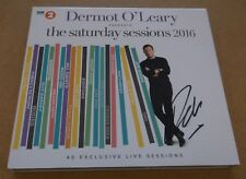 DERMOT O'LEARY Presents The Saturday Sessions 2016 SIGNED / AUTOGRAPHED CD + CoA