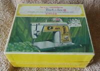 Vintage 1968 Accessories Touch & Sew for Model 630 Singer Zig-Zag Sewing Machine