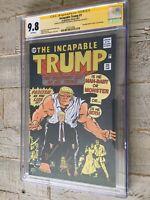 Incapable trump #1 comic book NYCC Exclusive 9.8 CGC