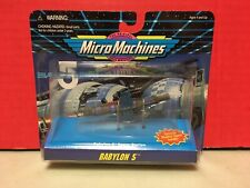 Micromachines Space Station Babylon 5 Galoob Toys 1995 Sci-Fi 65961