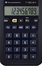 2x Texas Instruments TI-EC 3+ mini-escolar calculadora //