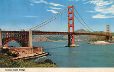 postcard USA  California Golden Gate Bridge  San Fransisco  posted