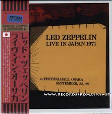 Led Zeppelin - Live in Japan 1971 - Empress Valley BOX 6 CD EVSD-776/781 Sealed