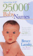 25,000 + (Baby Names)-ExLibrary