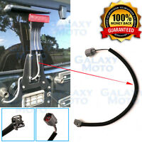 """Rear Spare Tire 15"""" 3rd Brake Light Extension Wire Cable for 07-17 Jeep Wrangler"""