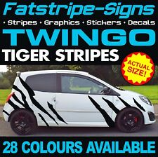 RENAULT TWINGO GRAPHICS TIGER STRIPES STICKERS DECALS SPORT RS TURBO MK2 MK3 133