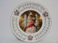 """""""Hark The Harold Angels Sing"""" 1988 Royal Doulton Christmas Carols Plate"""