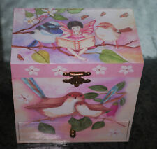 Enchantmints Fairy Jewelry Box - Sweet Fairy Wrens Music Box  - B1504