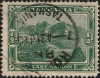 "AUSTRALIA / TASMANIA - ca.1903/05 "" HOBART "" CDS on SG237 1/2d green"