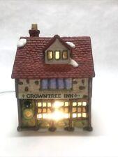 Department 56 Dickens Village Series. Crown tree Inn 1984