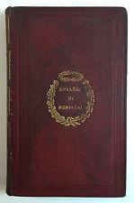 Histoire de la Literature Francais, Alfred Mame, Tours, College of Montreal 1879