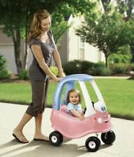 New Little Tikes Cozy Coupe Pink Princess Ride On Kids Car Push Along Toy Cosy