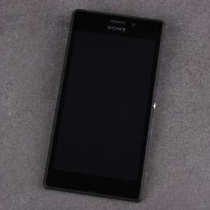 SONY XPERIA M2 AQUA D2403 D2406 LCD Display + Touchscreen mit Rahmen / ORIGINAL