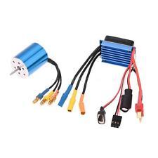 2430 7200KV 4P Sensorless Brushless Motor with 25A Brushless ESC for RC Car I4P8
