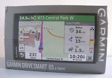 "Garmin DriveSmart 65 & Traffic 6.95"" GPS with Built-In Bluetooth 010-02038-02"