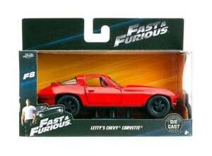 Jada Toys 98306 Letty's Chevrolet Corvette - Fast & Furious 1:32 NEU OVP