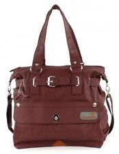 KangaROOS Jean Shopper Bag (Set) Tasche Schultertasche Braun Neu