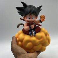 Dragon Ball Z Kid Son Goku on somersault clouds Action Figure Collection Toy