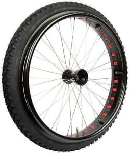 Rollstuhlrad Rad Rollstuhl Antriebsrad Reifen Fat Wheel 24'' Outdoor Aluminium