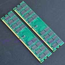 New 8GB 2x4GB PC2-6400 240pin DDR2 800 MHz Desktop Memory Fit AMD Motherboard