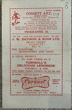 More details for consett v spennymoor 1958/59