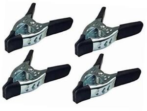 """Wholesale 6"""" Large Heavy Duty Metal Spring Clamps Hand Tool Coated Jaw Opening"""