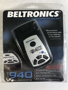 Beltronics Vector 940 Radar Detector, BRAND NEW & FACTORY SEALED!