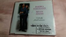 barbra streisand-bryan adams-mini cd promo spain-voir photos