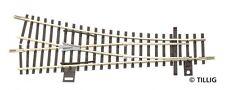 Tillig 83323 - TT GAUGE EW1 Right - Model Railroad Track 15° -