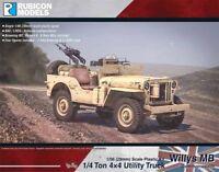 Rubicon Models - Willys MB 1/4 Ton 4x4 Truck Commonwealth 1/56 Großbritannien