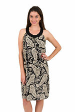 Paisley Pattern Viscose Sundresses for Women