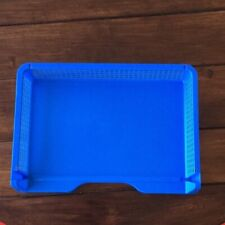 New listing Stackable Plastic Side Load Letter Tray Paper File Organizer Office Desktop - 2