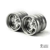 LESU Rear Metal Wheel Hub W-2046 for 1/14 DIY TAMIYA  RC Tractor Truck Hex