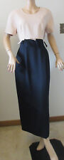 Lori Ann Montreal Dress Women's Size 12 Beige/Black New With Tags