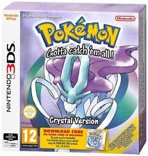 3 ds pokemon cristal empaquetado de código de Descarga Nintendo 3 DS