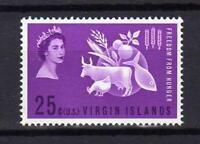14597) British Virgin Isl. 1963 MNH New - Freedom From Hunger