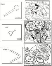 Kit Outils pour Courroie Distribution Calage Soupape Moteur Blocage Vilebrequin