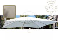 Telo di ricambio per ombrellone Senso 3x3 metri colore ecrù